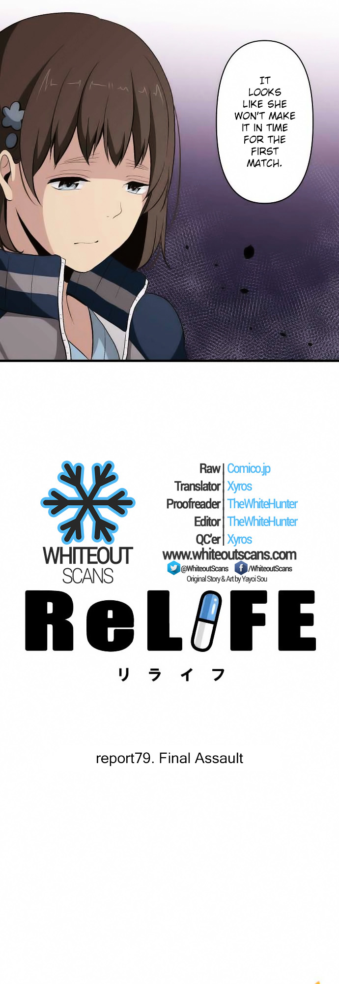 ReLIFE Chapter 79  Online Free Manga Read Image 3