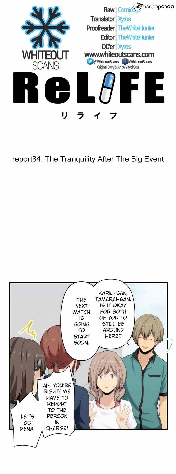ReLIFE Chapter 84  Online Free Manga Read Image 2