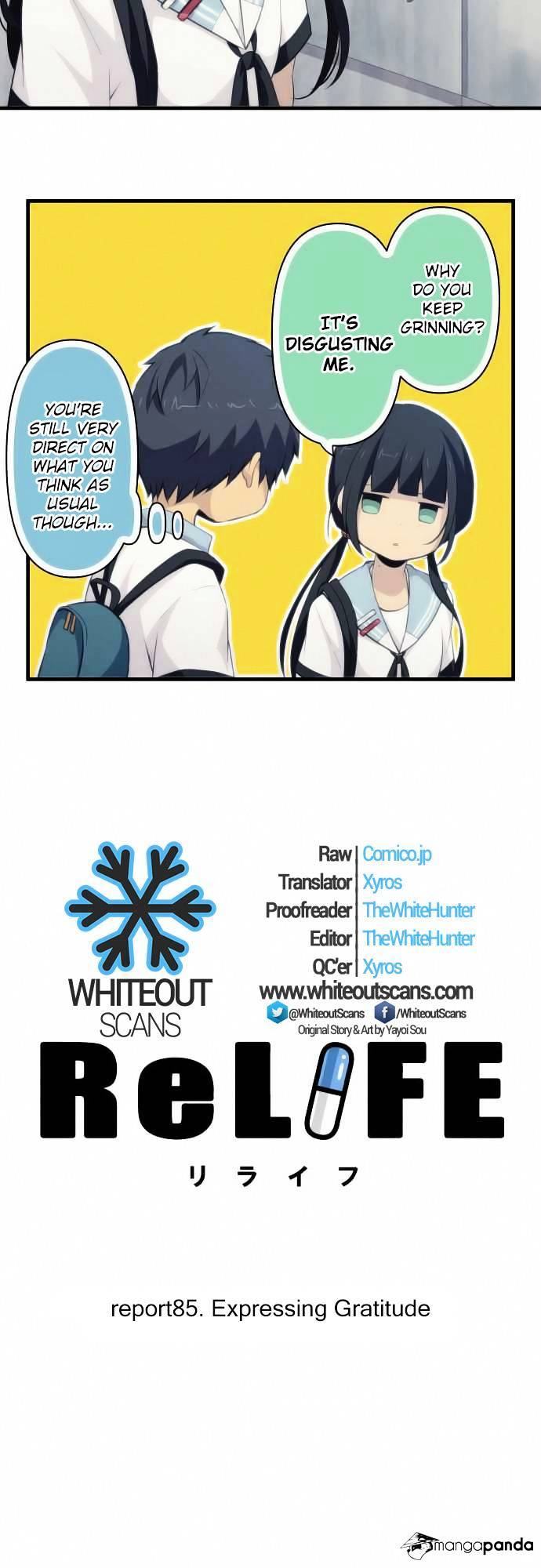 ReLIFE Chapter 85  Online Free Manga Read Image 3