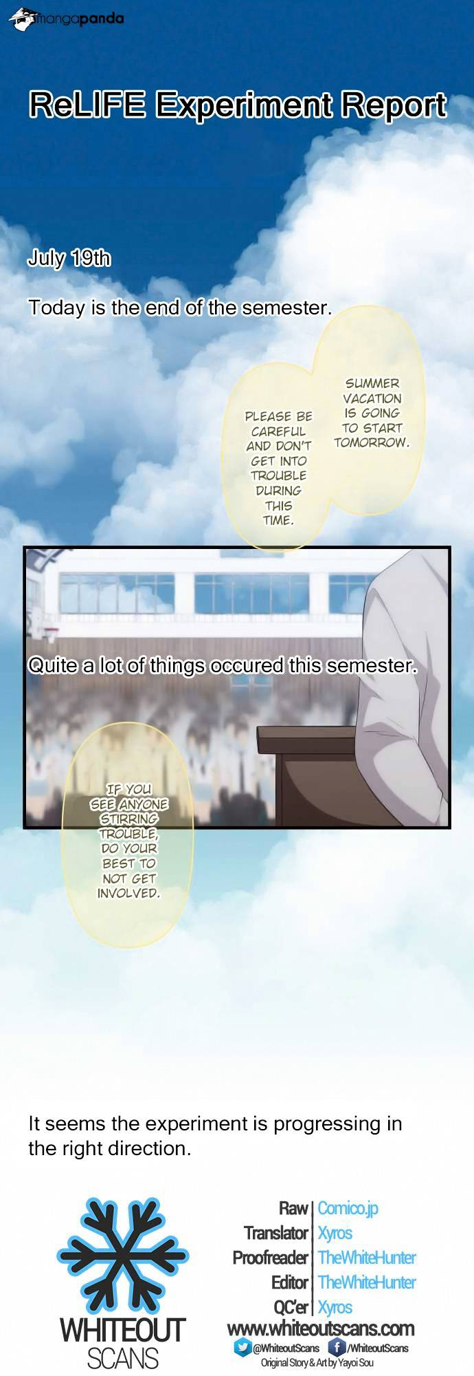 ReLIFE Chapter 94  Online Free Manga Read Image 1