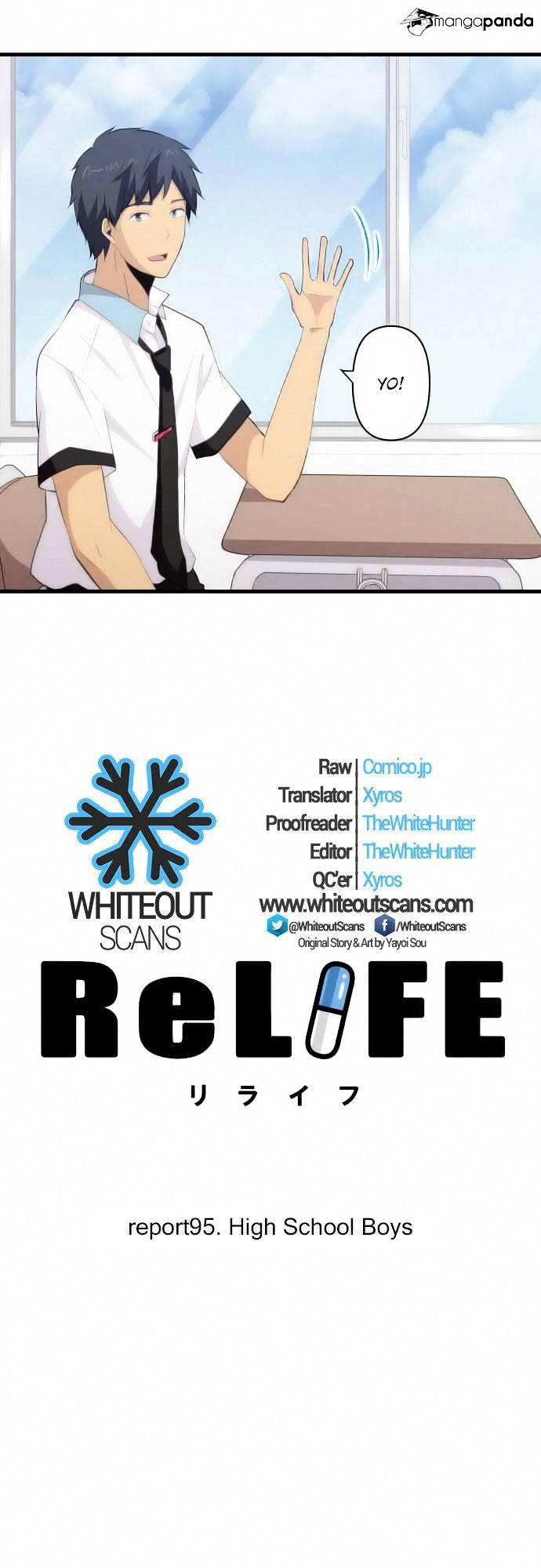 ReLIFE Chapter 95  Online Free Manga Read Image 2
