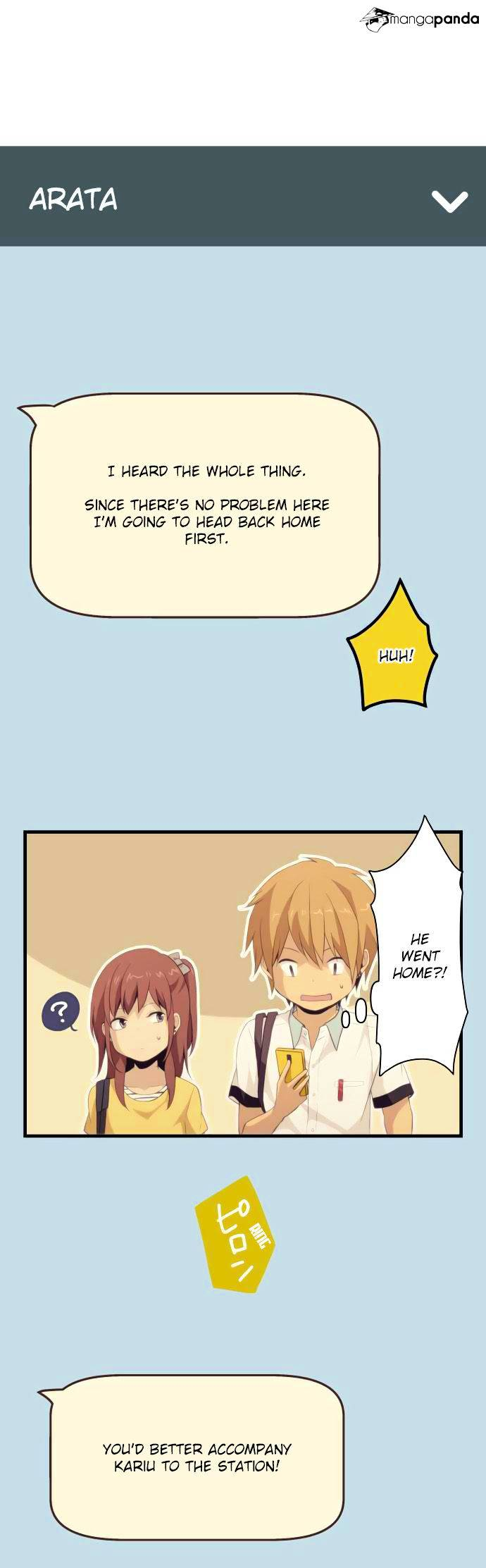 ReLIFE Chapter 98  Online Free Manga Read Image 18