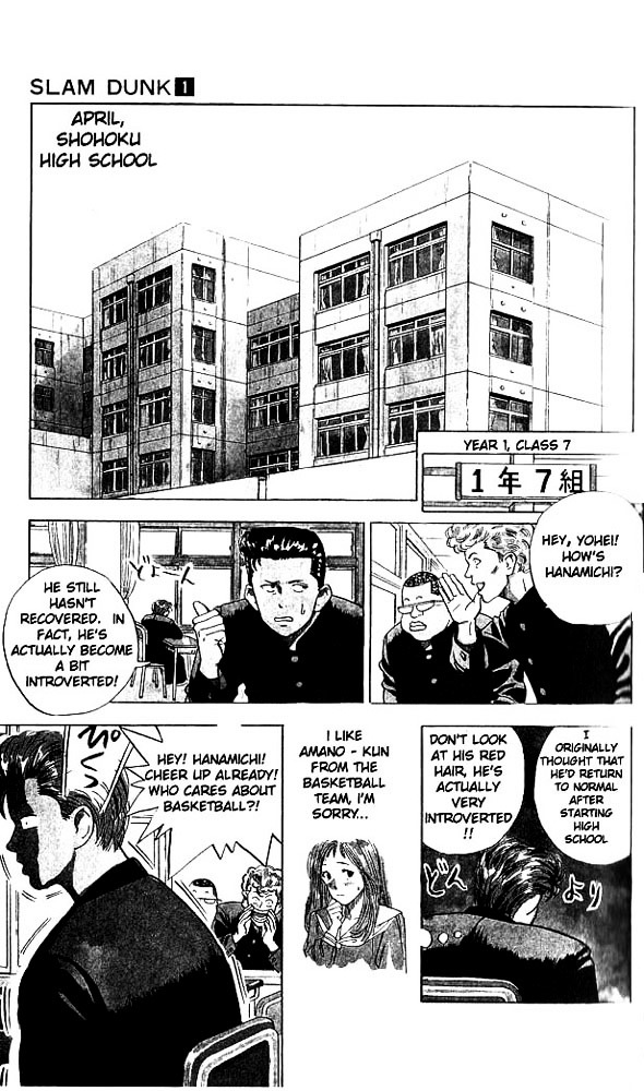 Slam Dunk Chapter 1  Online Free Manga Read Image 7