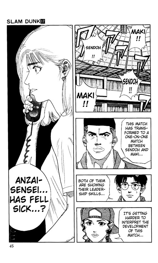 Slam Dunk Chapter 145  Online Free Manga Read Image 18