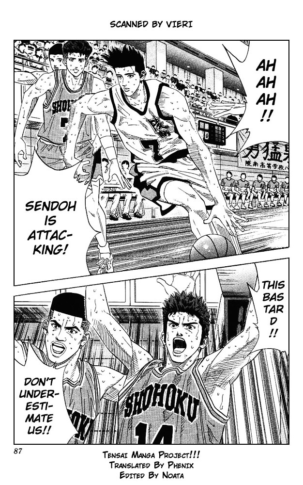 Slam Dunk Chapter 166  Online Free Manga Read Image 1