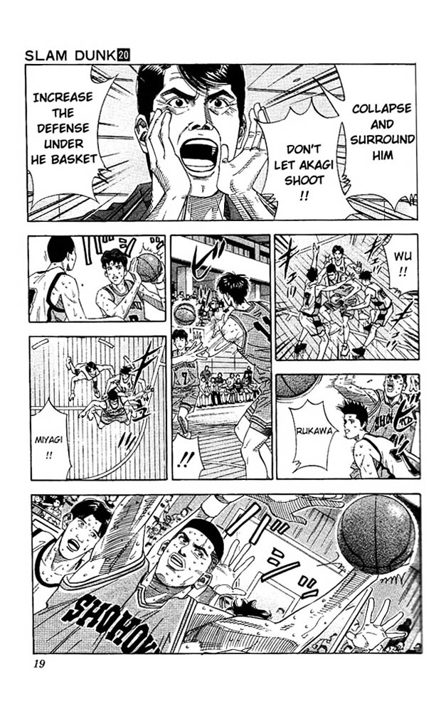 Slam Dunk Chapter 171  Online Free Manga Read Image 16