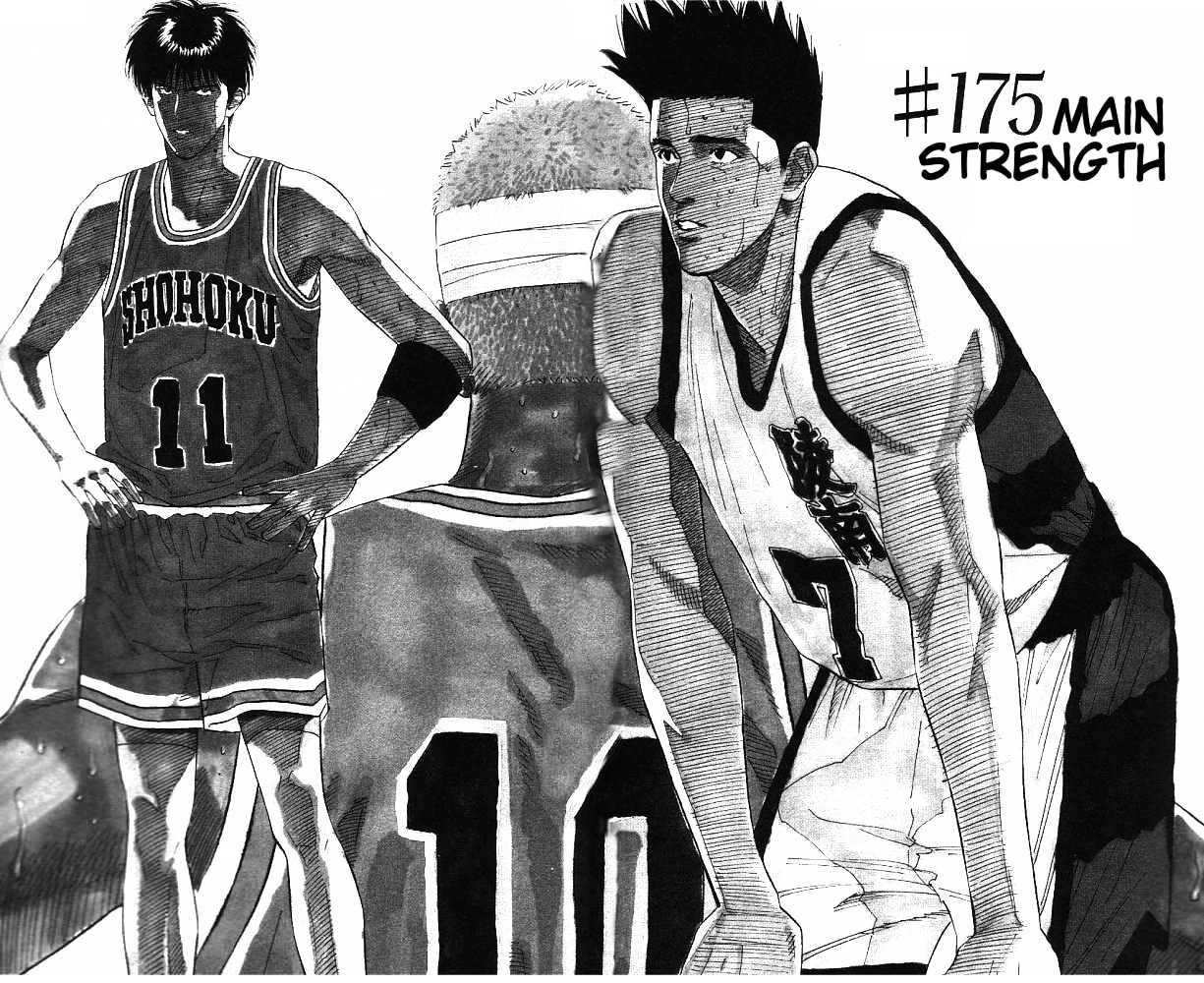 Slam Dunk Chapter 175  Online Free Manga Read Image 1