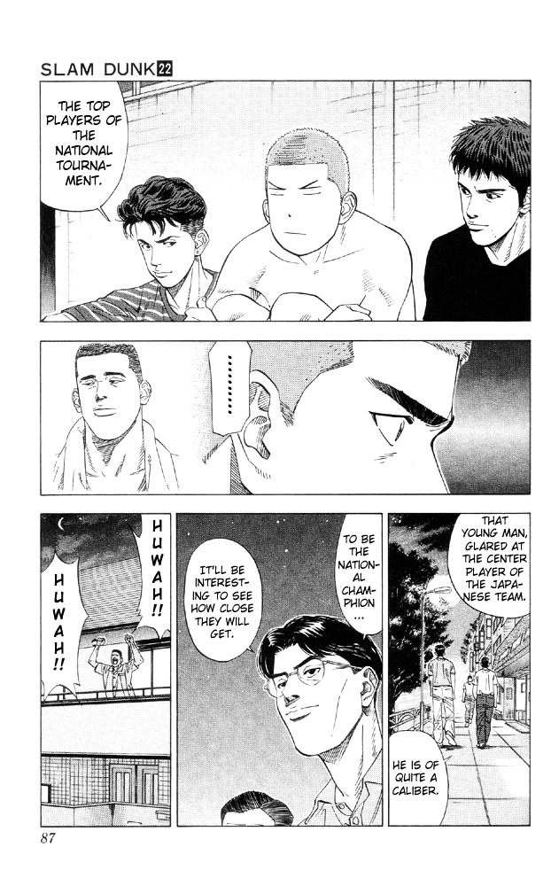 Slam Dunk Chapter 192  Online Free Manga Read Image 18