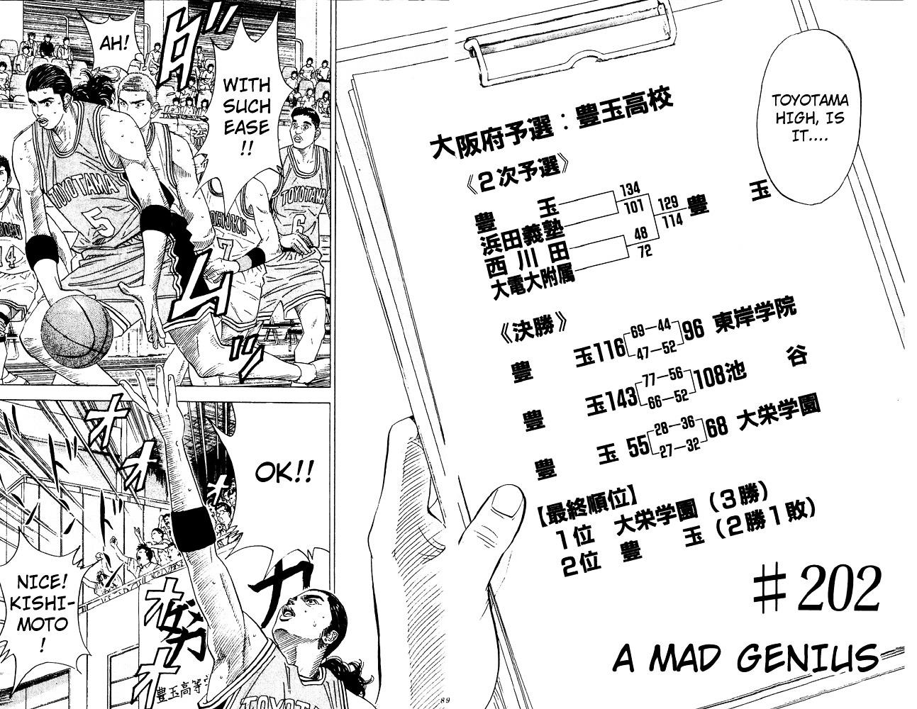 Slam Dunk Chapter 202  Online Free Manga Read Image 2