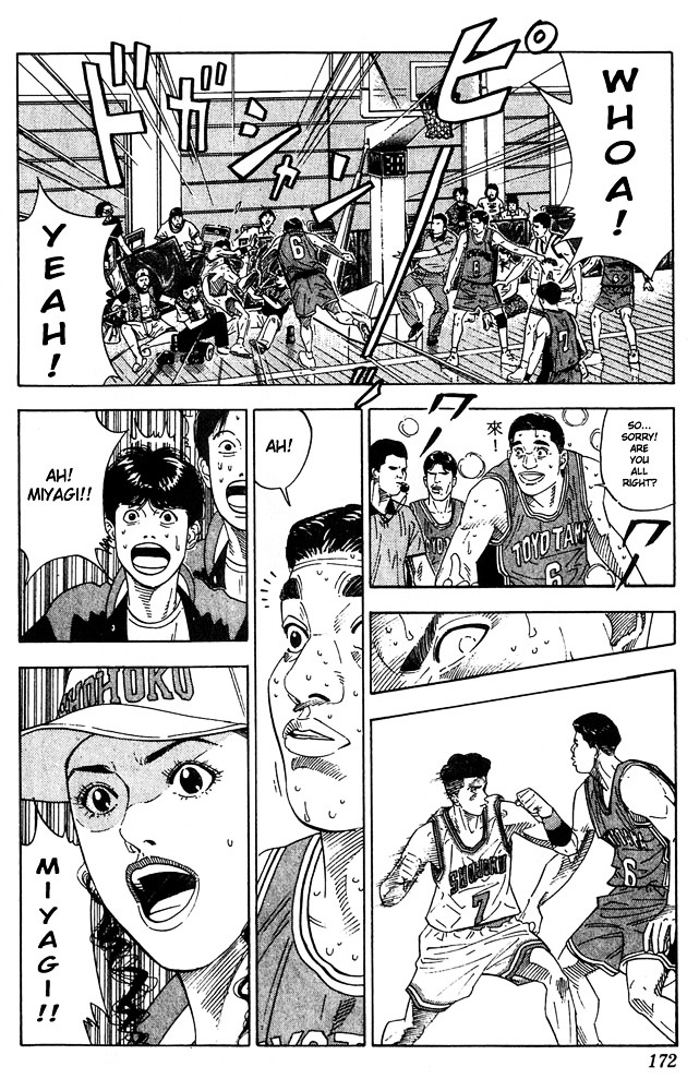 Slam Dunk Chapter 206  Online Free Manga Read Image 6