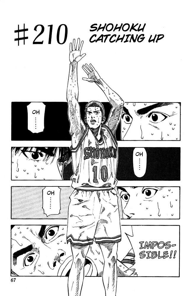 Slam Dunk Chapter 210  Online Free Manga Read Image 1