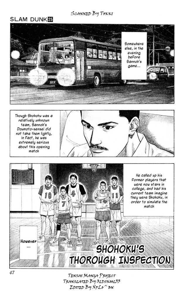 Slam Dunk Chapter 218  Online Free Manga Read Image 1