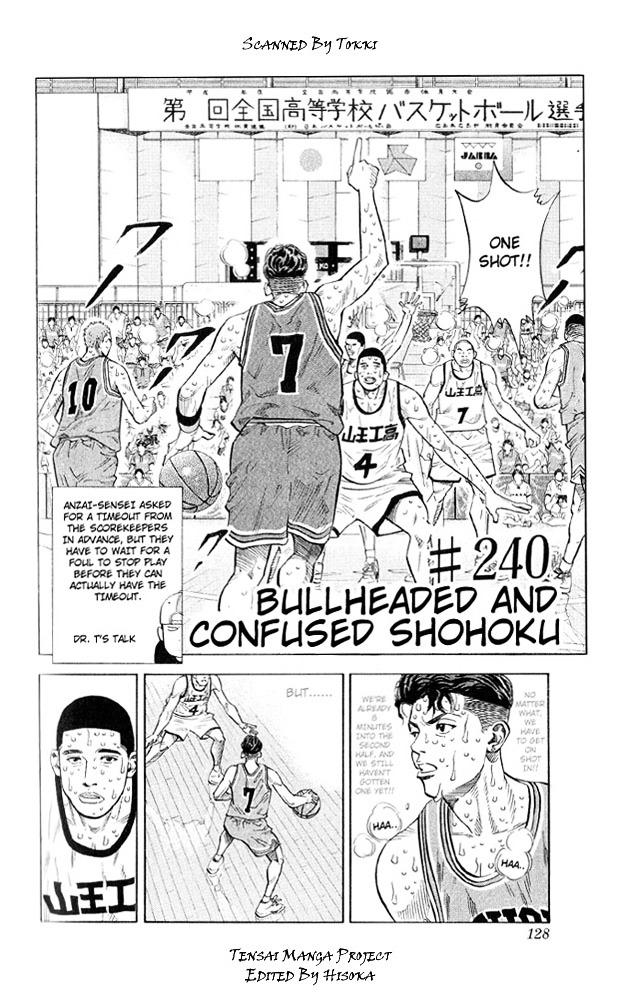 Slam Dunk Chapter 240  Online Free Manga Read Image 2