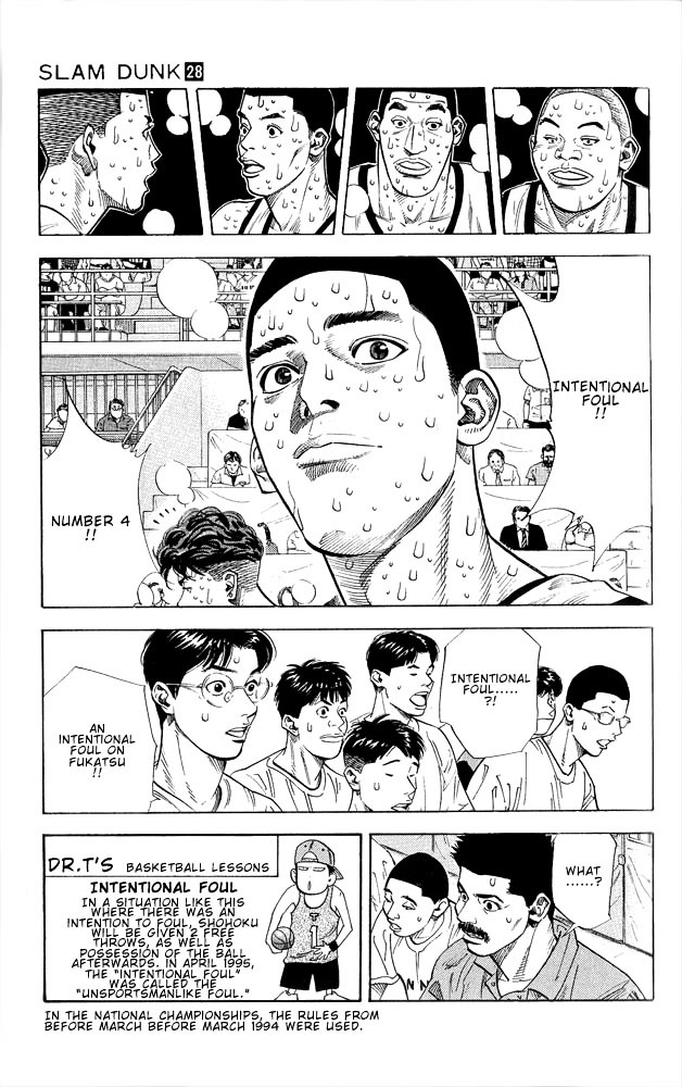 Slam Dunk Chapter 250  Online Free Manga Read Image 5