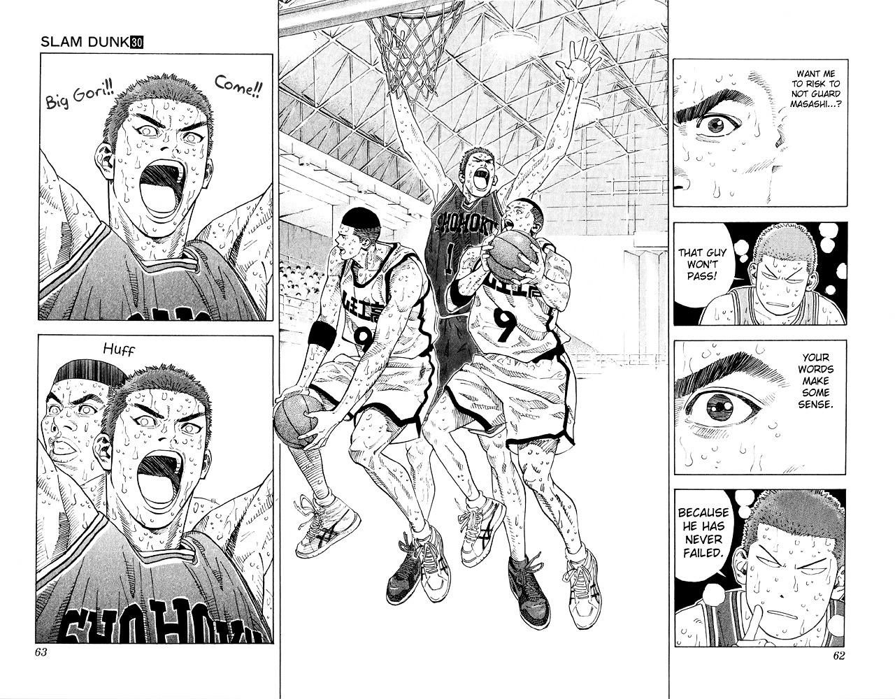 Slam Dunk Chapter 263  Online Free Manga Read Image 15