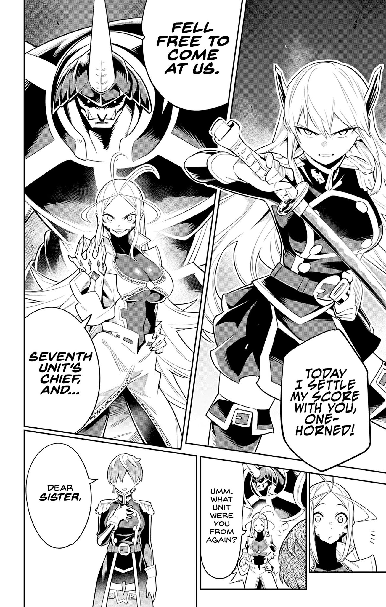Slave of the Magic Capitals Elite Troops Chapter 32  Online Free Manga Read Image 20