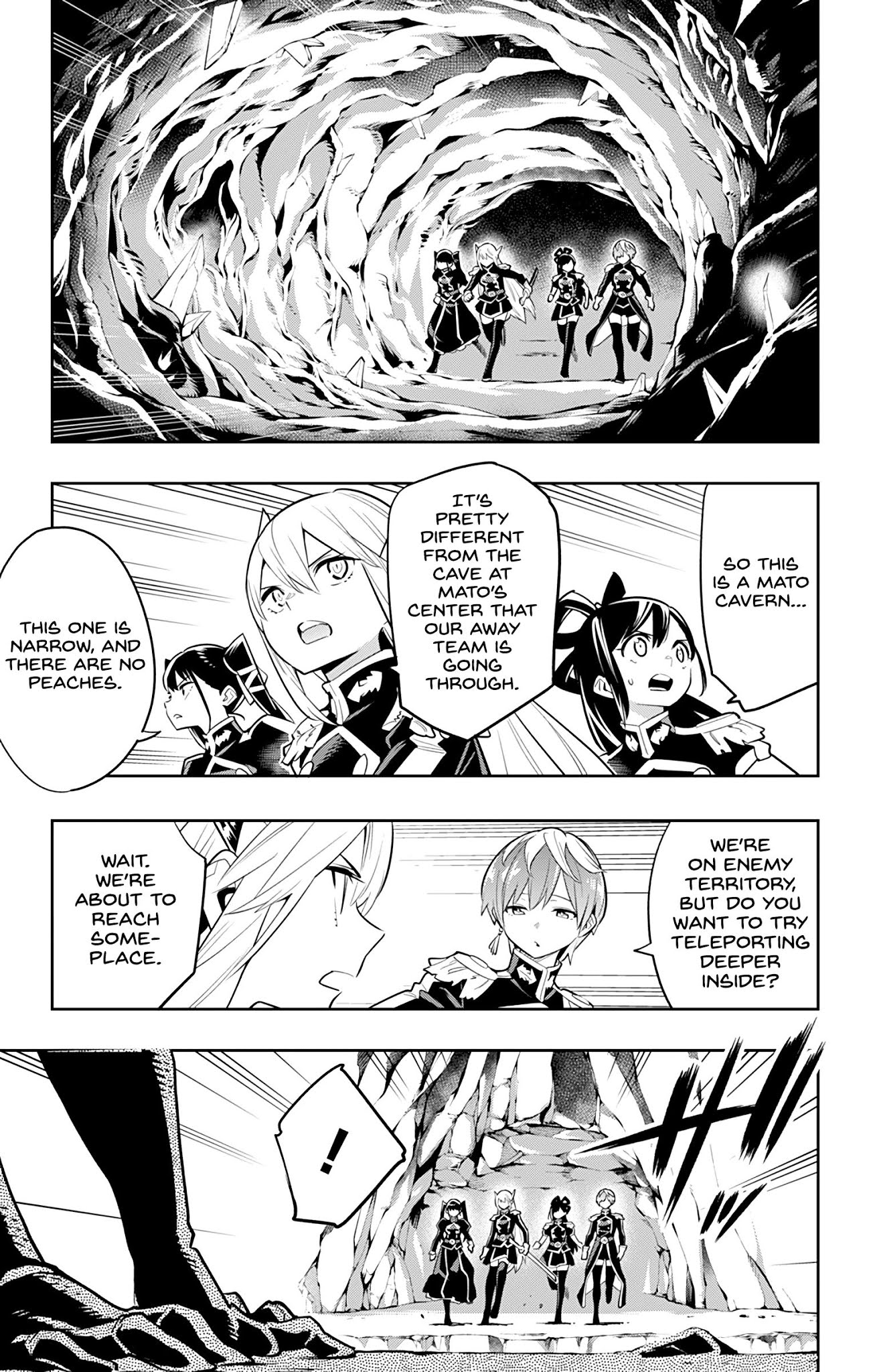 Slave of the Magic Capitals Elite Troops Chapter 32  Online Free Manga Read Image 3