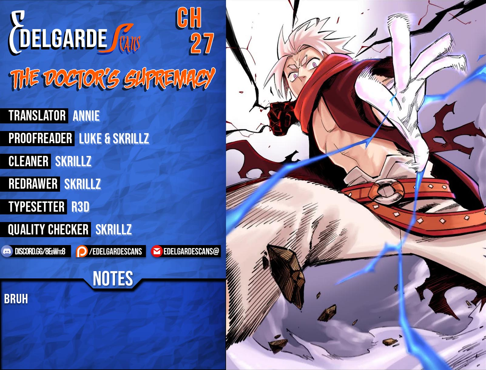 The Doctors Supremacy Chapter 27  Online Free Manga Read Image 1