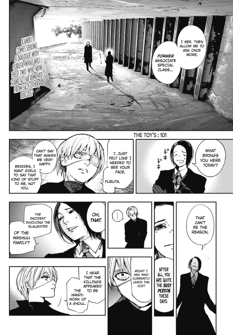 Tokyo Ghoulre Chapter 101  Online Free Manga Read Image 3