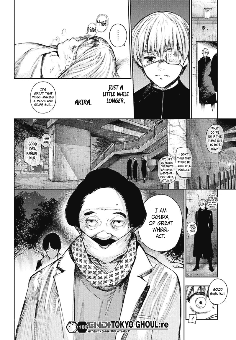 Tokyo Ghoulre Chapter 102  Online Free Manga Read Image 19