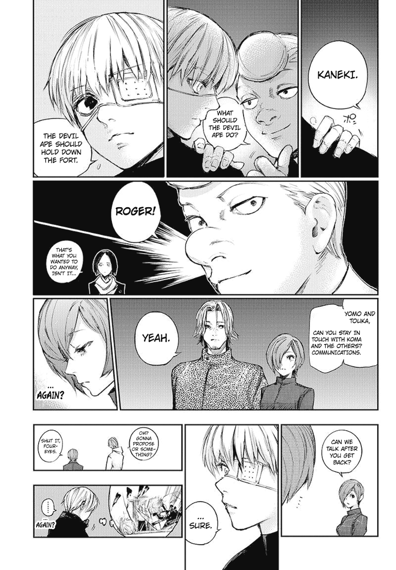 Tokyo Ghoulre Chapter 104  Online Free Manga Read Image 16