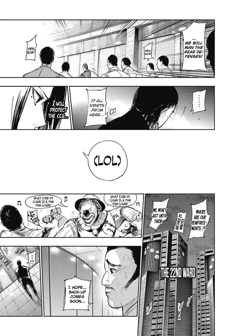 Tokyo Ghoulre Chapter 105  Online Free Manga Read Image 18