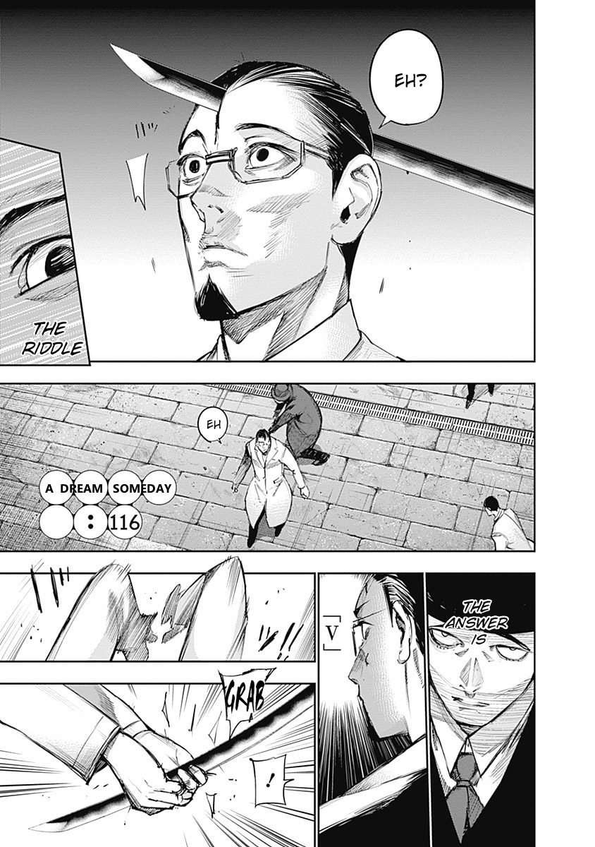 Tokyo Ghoulre Chapter 116  Online Free Manga Read Image 2