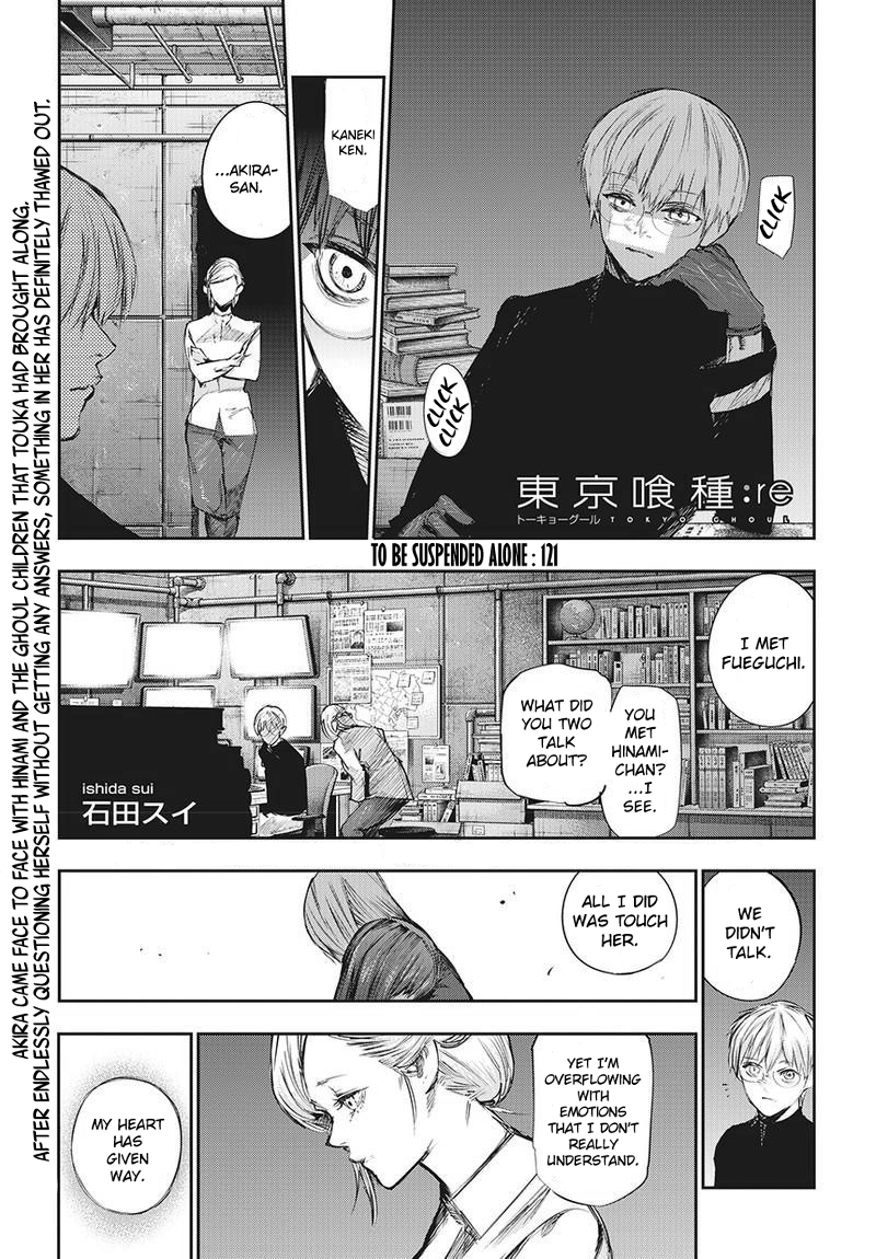 Tokyo Ghoulre Chapter 121  Online Free Manga Read Image 2