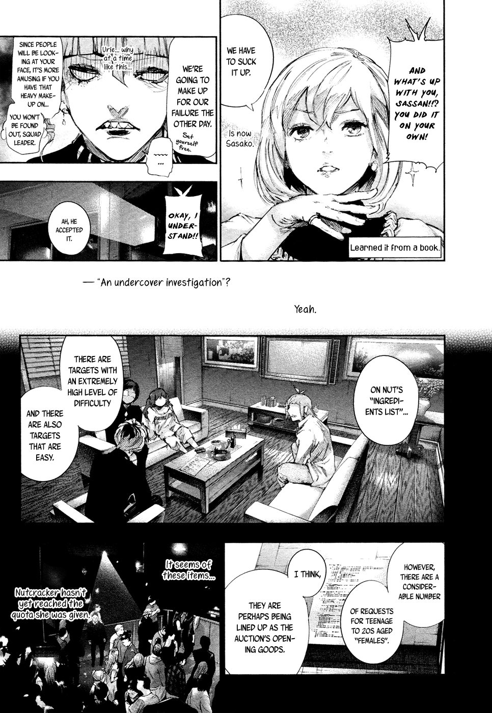 Tokyo Ghoulre Chapter 13  Online Free Manga Read Image 4