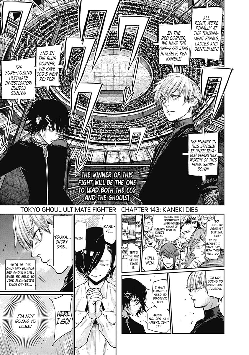 Tokyo Ghoulre Chapter 144  Online Free Manga Read Image 3