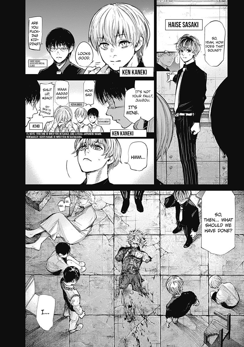 Tokyo Ghoulre Chapter 144  Online Free Manga Read Image 6