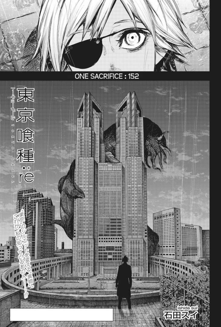 Tokyo Ghoulre Chapter 152  Online Free Manga Read Image 2