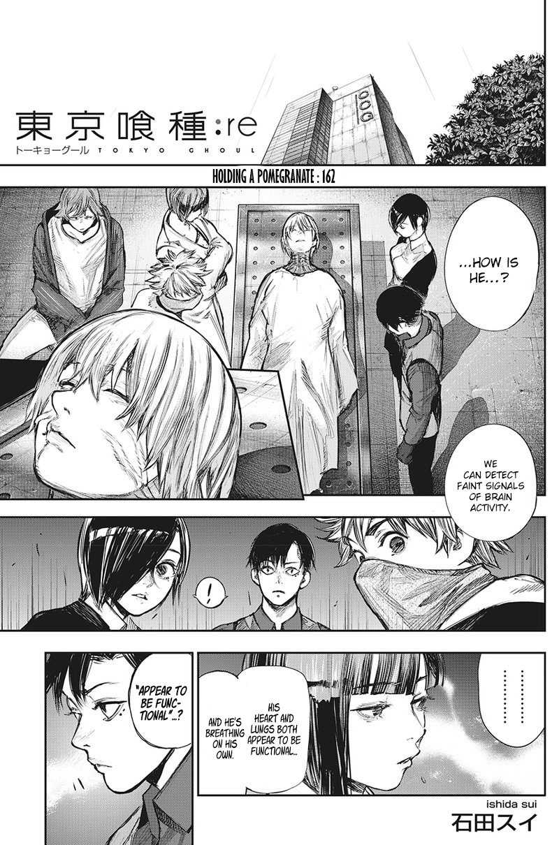 Tokyo Ghoulre Chapter 162  Online Free Manga Read Image 2