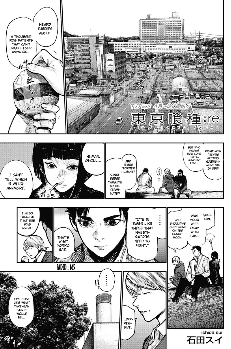 Tokyo Ghoulre Chapter 165  Online Free Manga Read Image 2