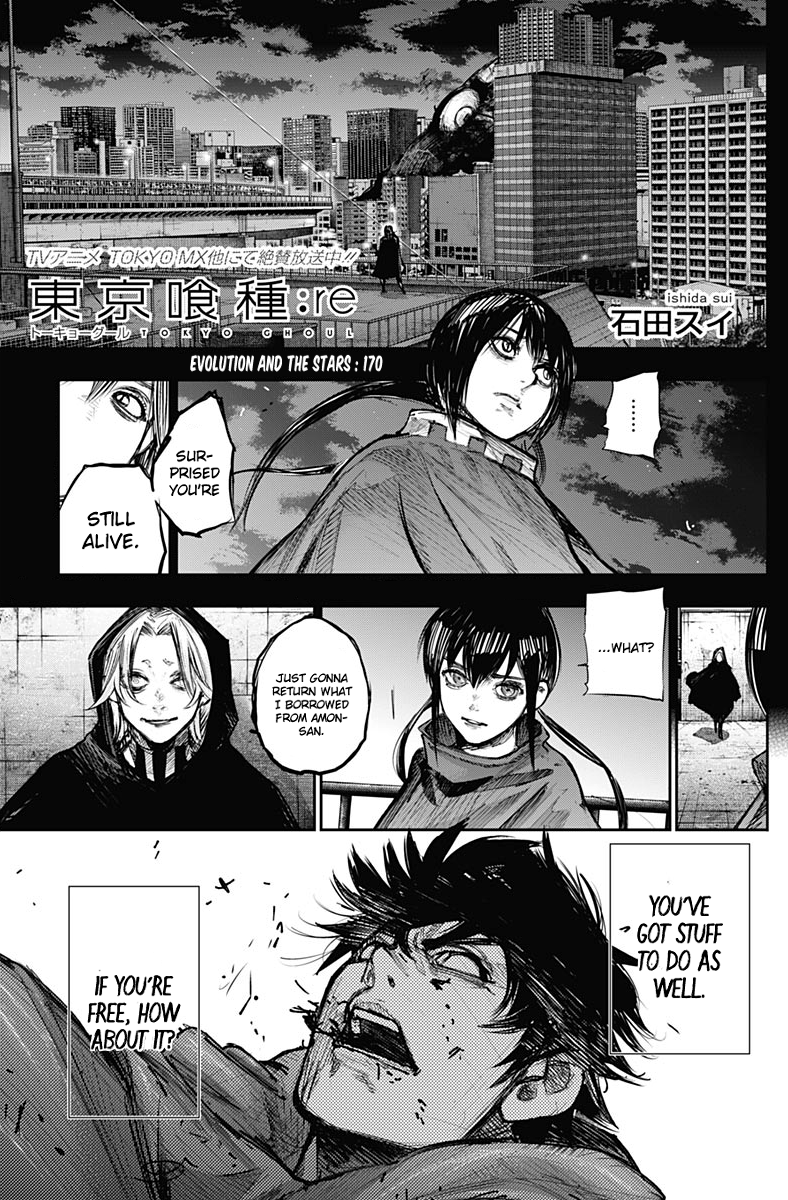 Tokyo Ghoulre Chapter 170  Online Free Manga Read Image 2