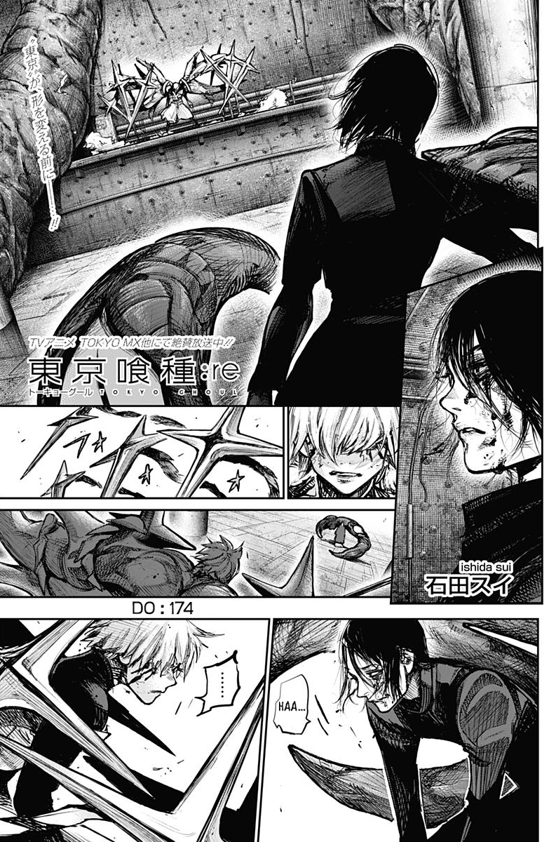 Tokyo Ghoulre Chapter 174  Online Free Manga Read Image 2