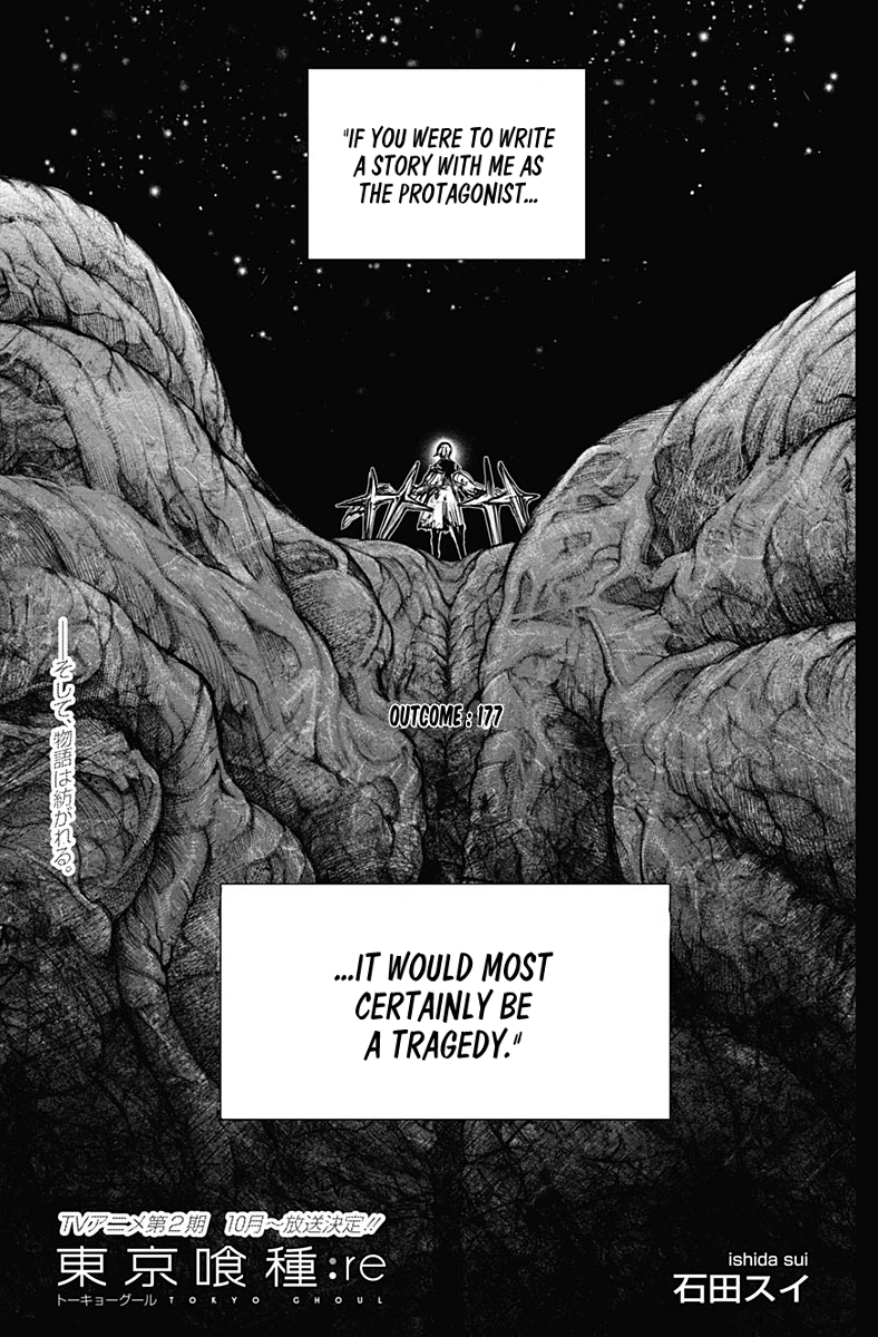Tokyo Ghoulre Chapter 177  Online Free Manga Read Image 2