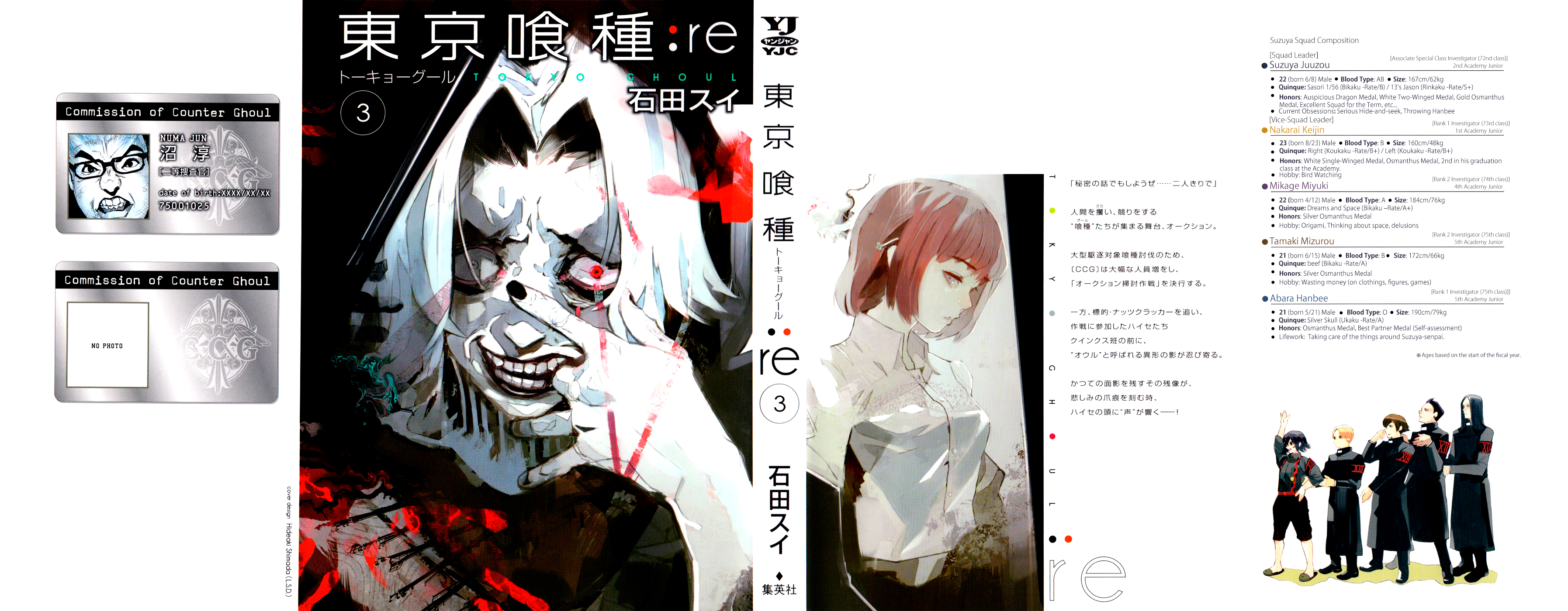 Tokyo Ghoulre Chapter 21  Online Free Manga Read Image 2