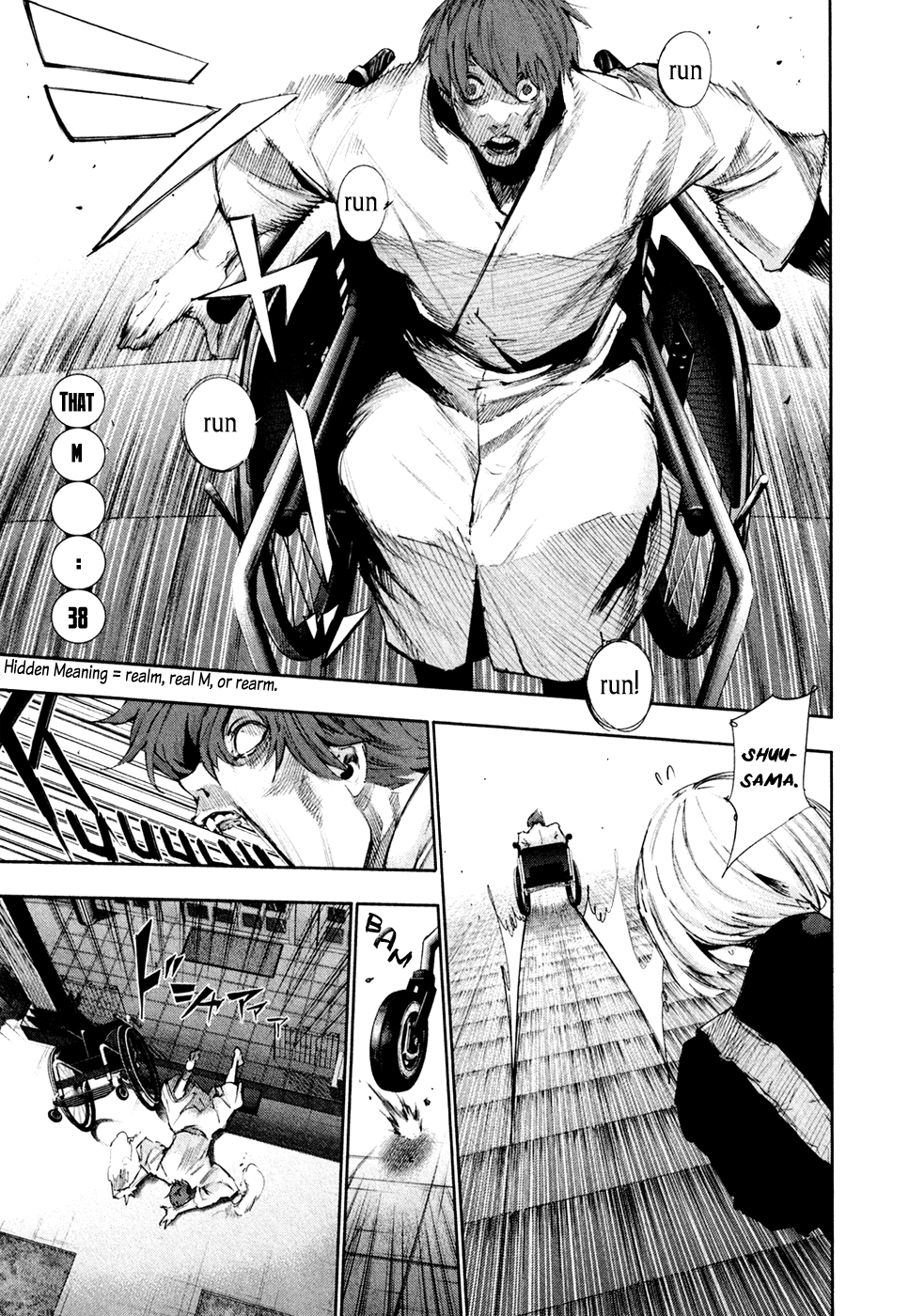 Tokyo Ghoulre Chapter 38  Online Free Manga Read Image 2