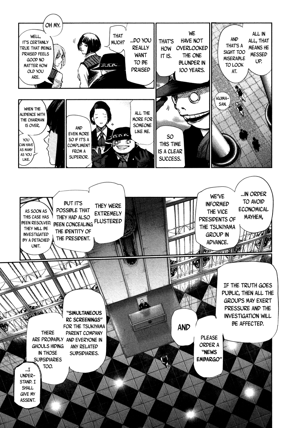Tokyo Ghoulre Chapter 45  Online Free Manga Read Image 6