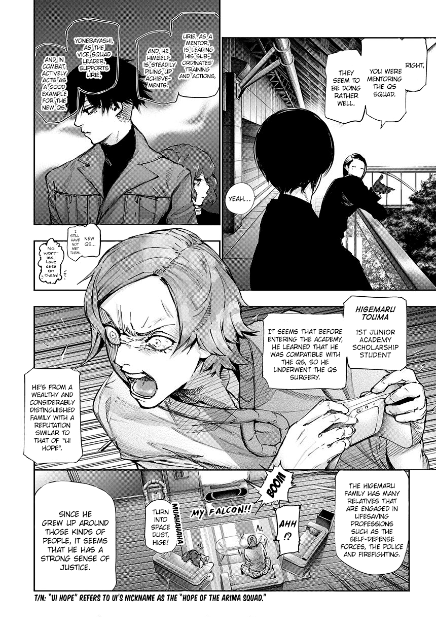 Tokyo Ghoulre Chapter 61  Online Free Manga Read Image 3