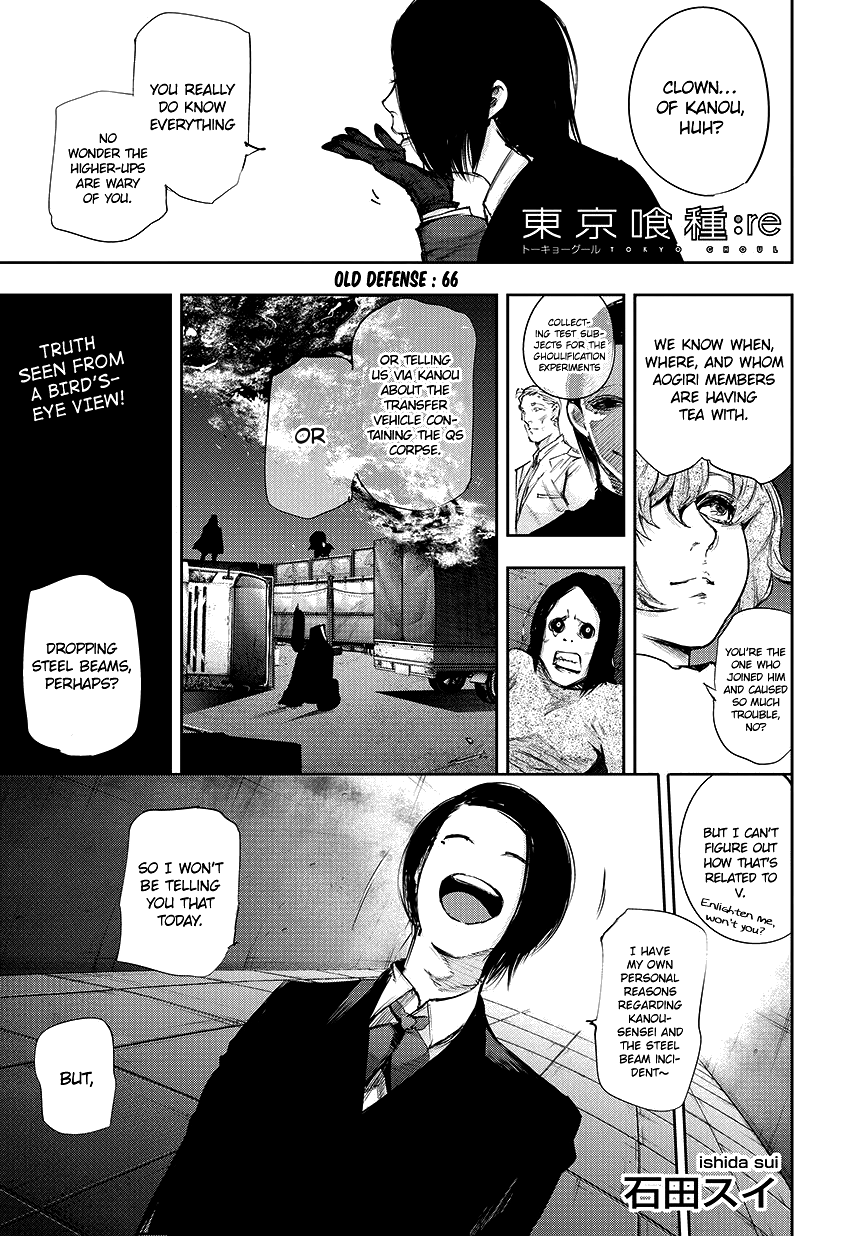 Tokyo Ghoulre Chapter 66  Online Free Manga Read Image 2