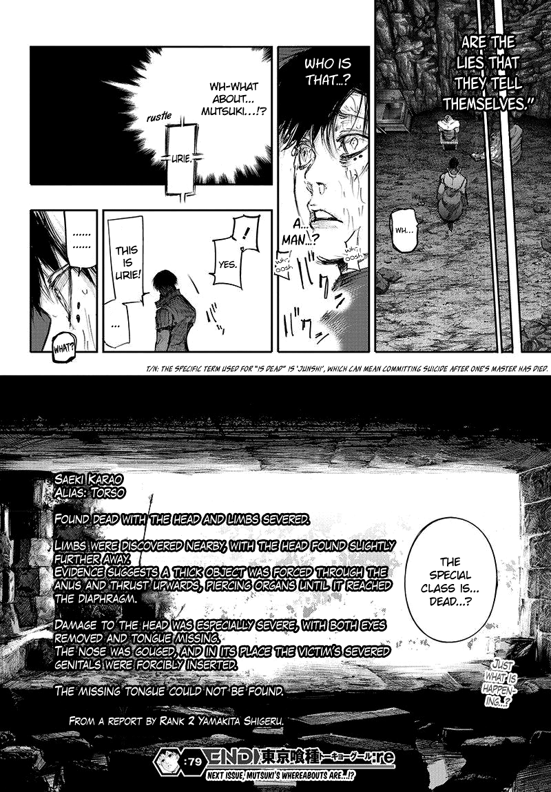 Tokyo Ghoulre Chapter 79  Online Free Manga Read Image 19