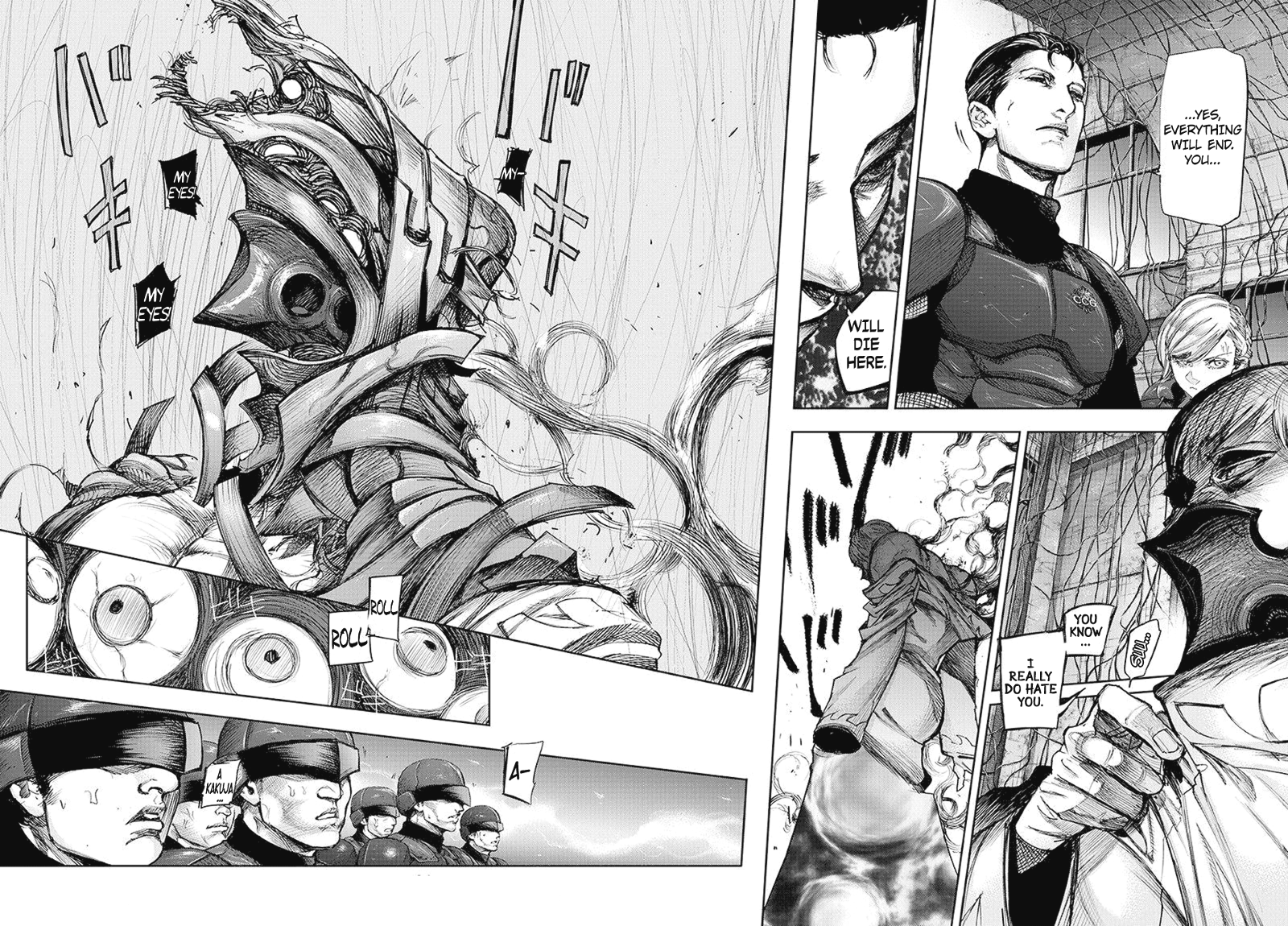 Tokyo Ghoulre Chapter 88  Online Free Manga Read Image 3