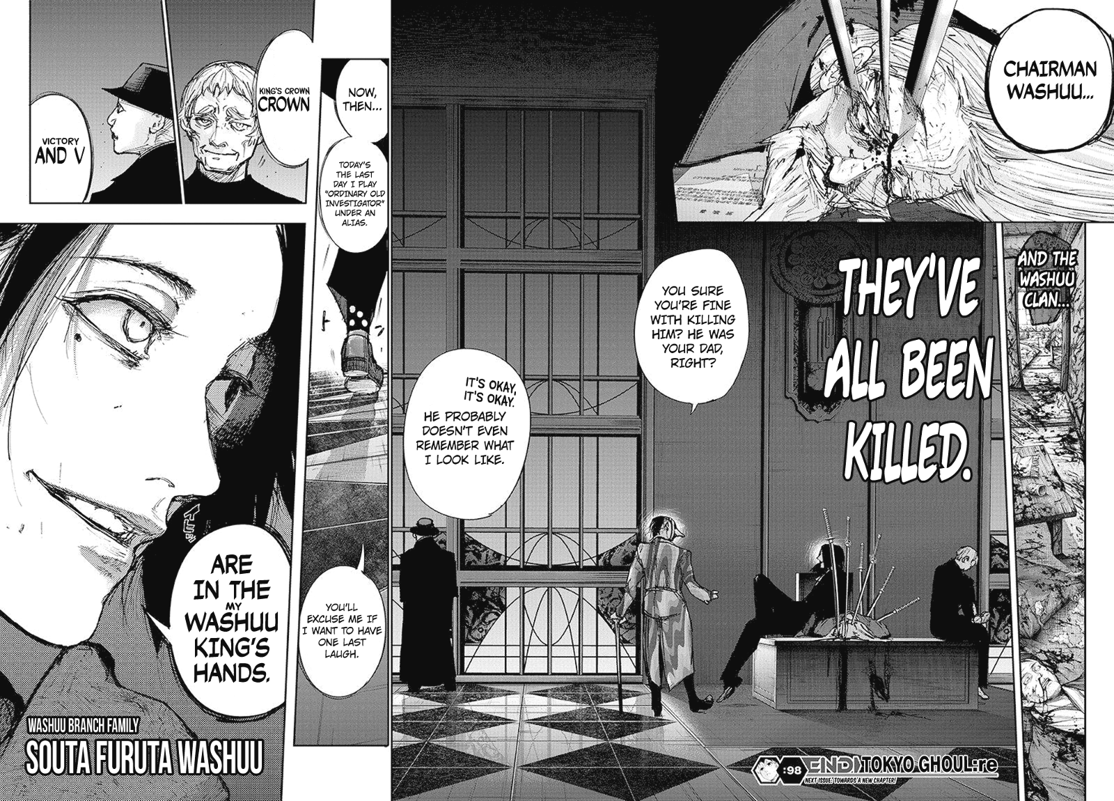 Tokyo Ghoulre Chapter 98  Online Free Manga Read Image 19