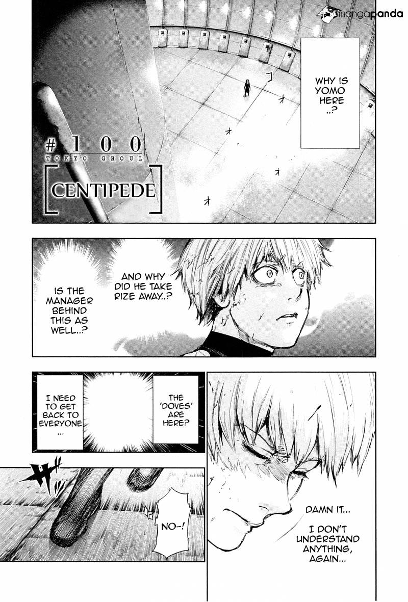 Tokyo Ghoul Chapter 100  Online Free Manga Read Image 1