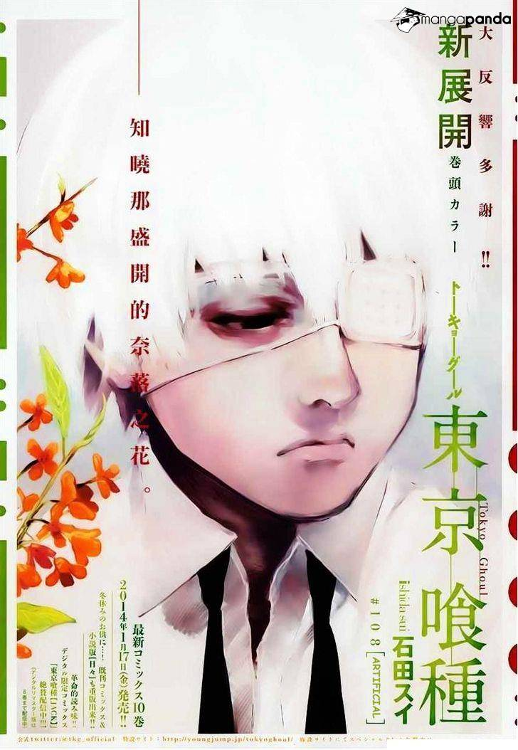 Tokyo Ghoul Chapter 108  Online Free Manga Read Image 1