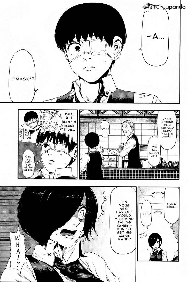 Tokyo Ghoul Chapter 11  Online Free Manga Read Image 4