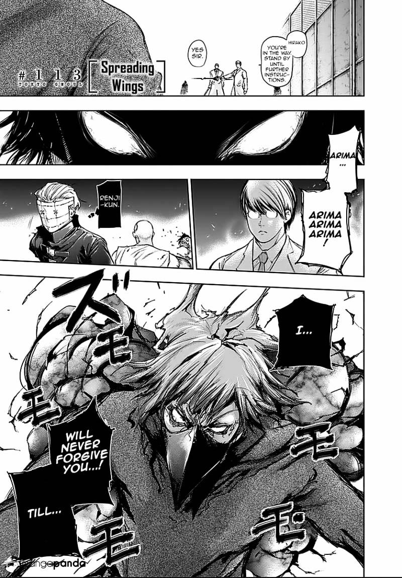 Tokyo Ghoul Chapter 113  Online Free Manga Read Image 1