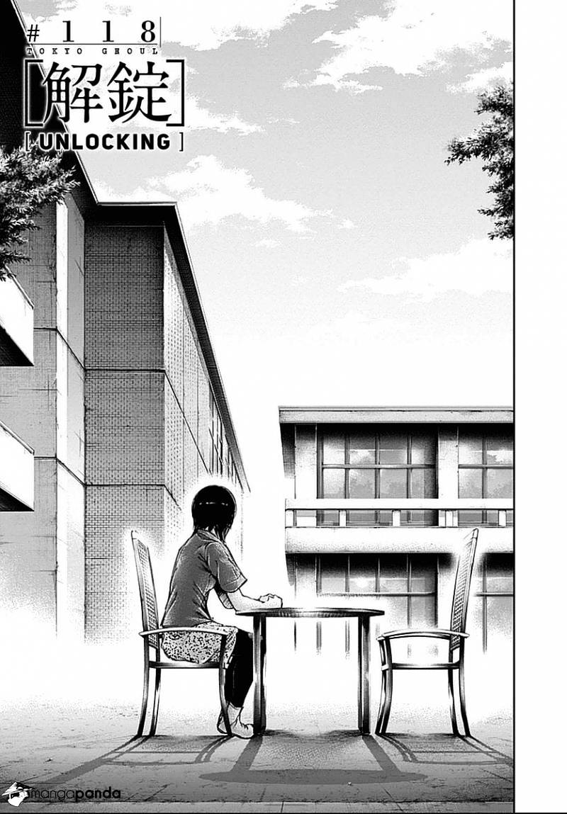 Tokyo Ghoul Chapter 118  Online Free Manga Read Image 1